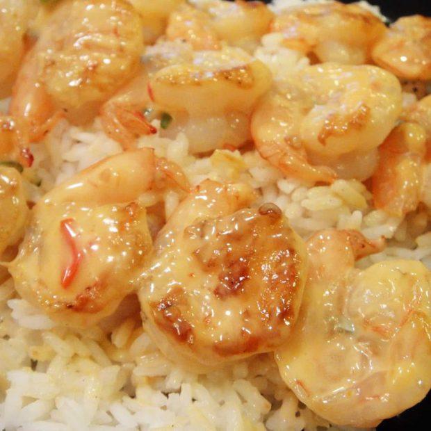 Bangin' Grilled Shrimp