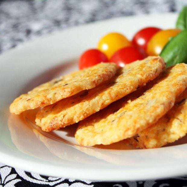 Cheddar, Rosemary, and Walnut Icebox Crackers
