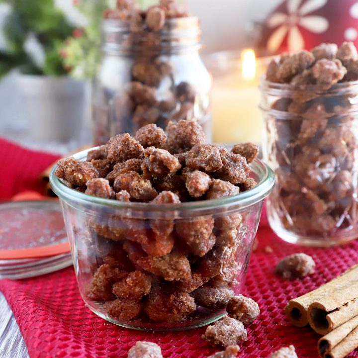 thumbnail image of cinnamon almonds made in crockpot