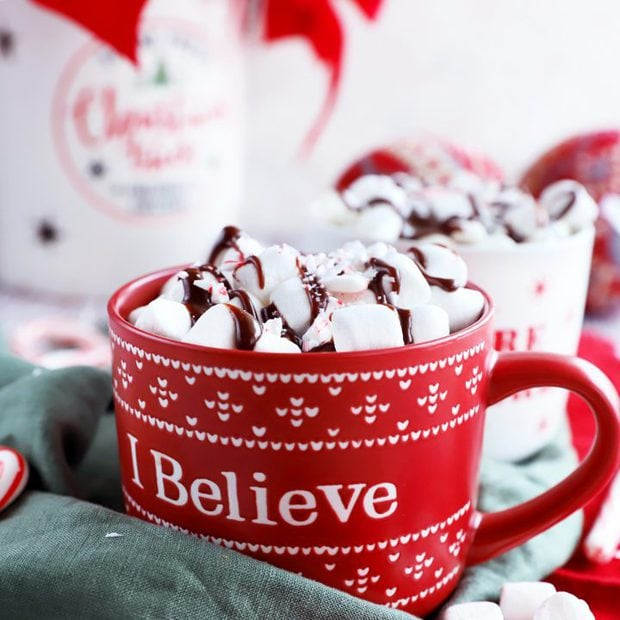 Thumbnail image of hot chocolate slow cooker