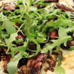 Grilled Steak, Blue Cheese, & Balsamic Pizza