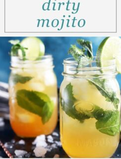 Dirty Mojito Pinterest image