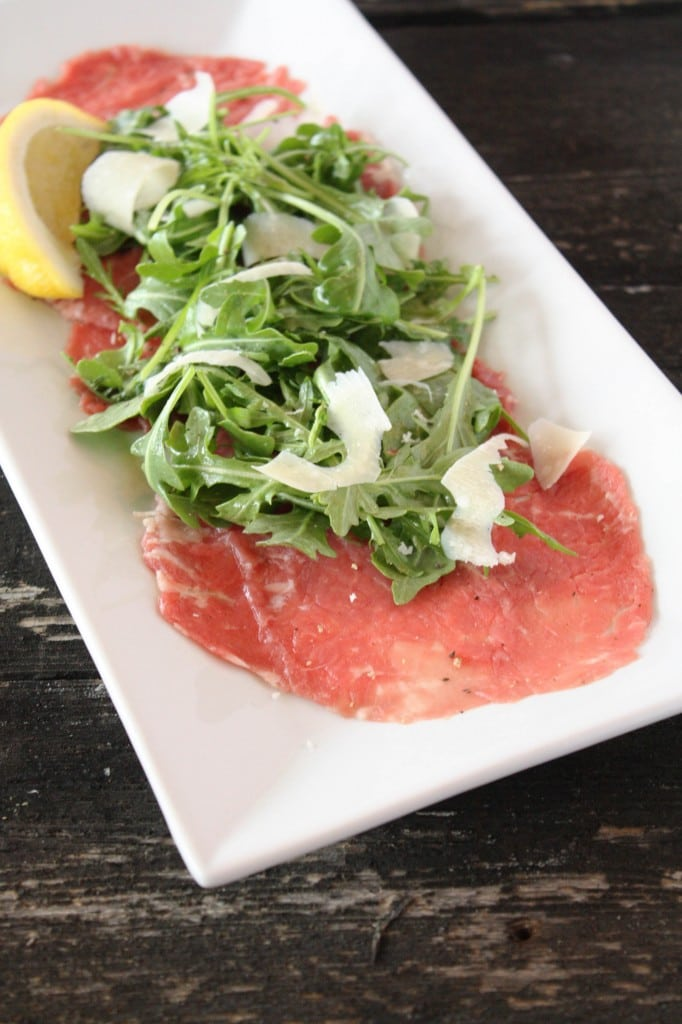 Beef Carpaccio – Cake 'n Knife