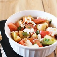 Heirloom Tomato & Stracciatella Salad