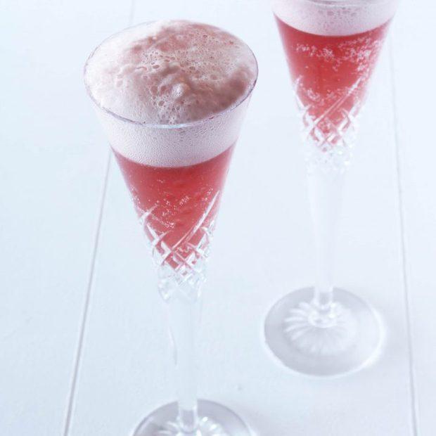 Raspberry Sorbet & Champagne