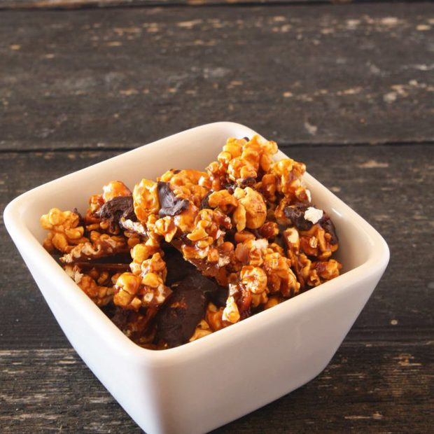 Bacon Chocolate Caramel Corn