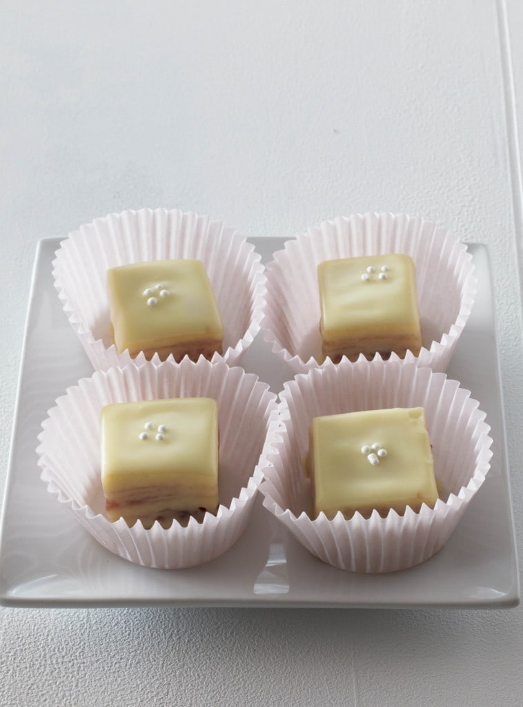 Easy Easter Petit Fours – Cake 'n Knife