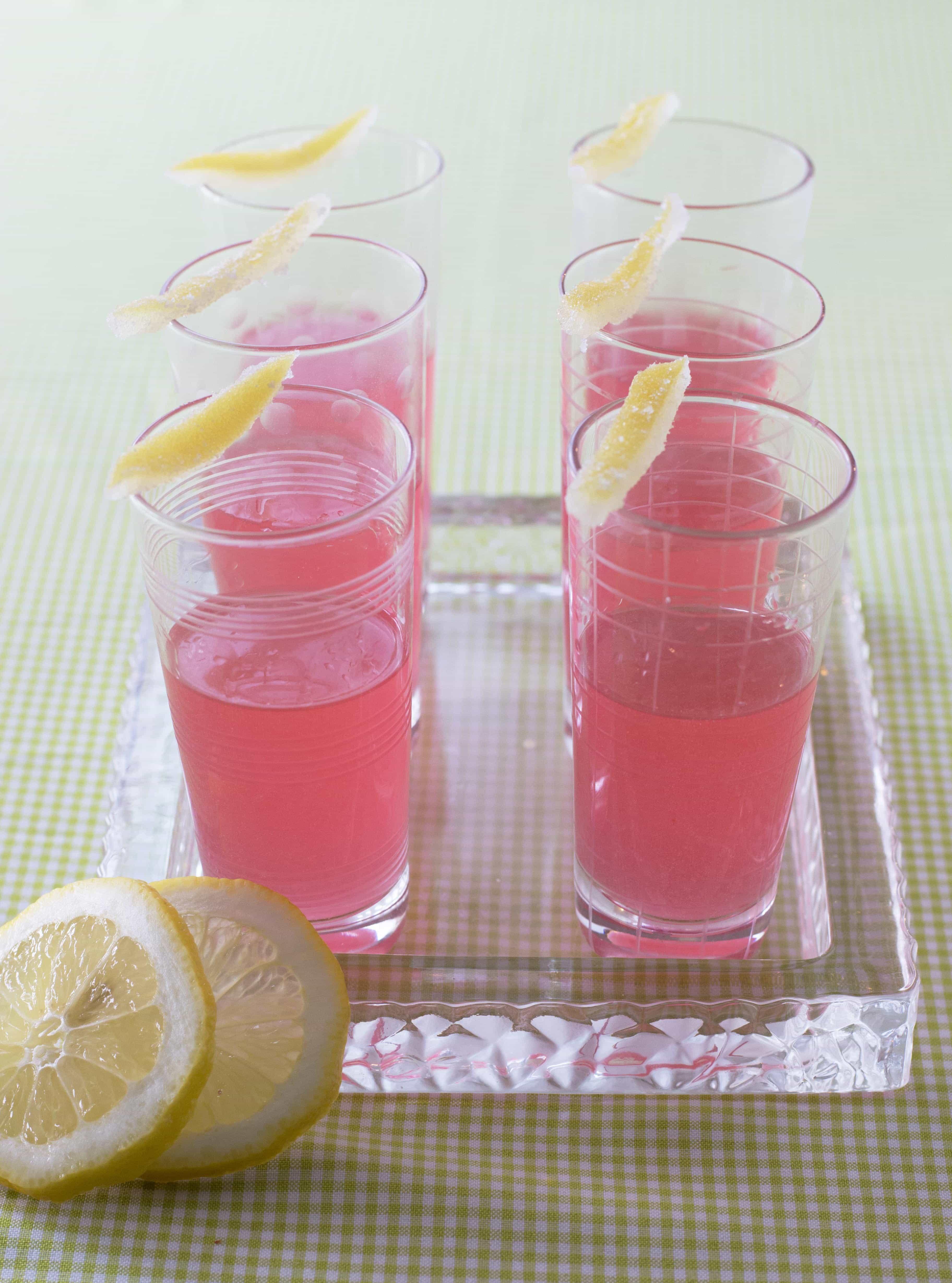 Pink Lemonade Snack Cakes