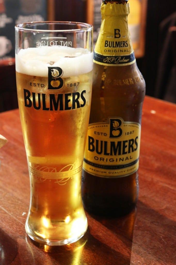 Oh how I miss Bulmer's