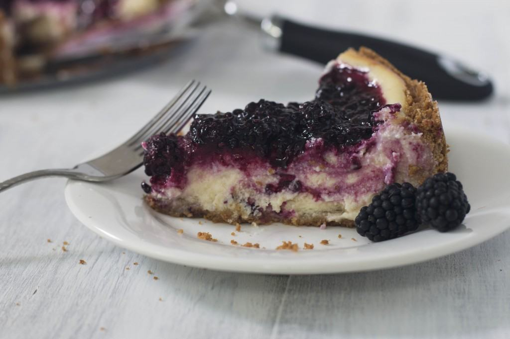 Blackberry Goat Cheesecake_2
