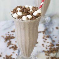 Boozy Cocoa Krispies Shake