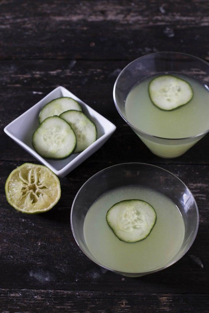 Cucumber Martini 4