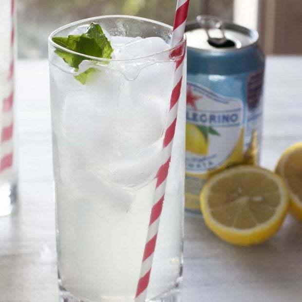 Lemon Basil Cooler + Basil Simple Syrup