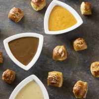 Oktoberfest Trio of Beer Cheese Dips