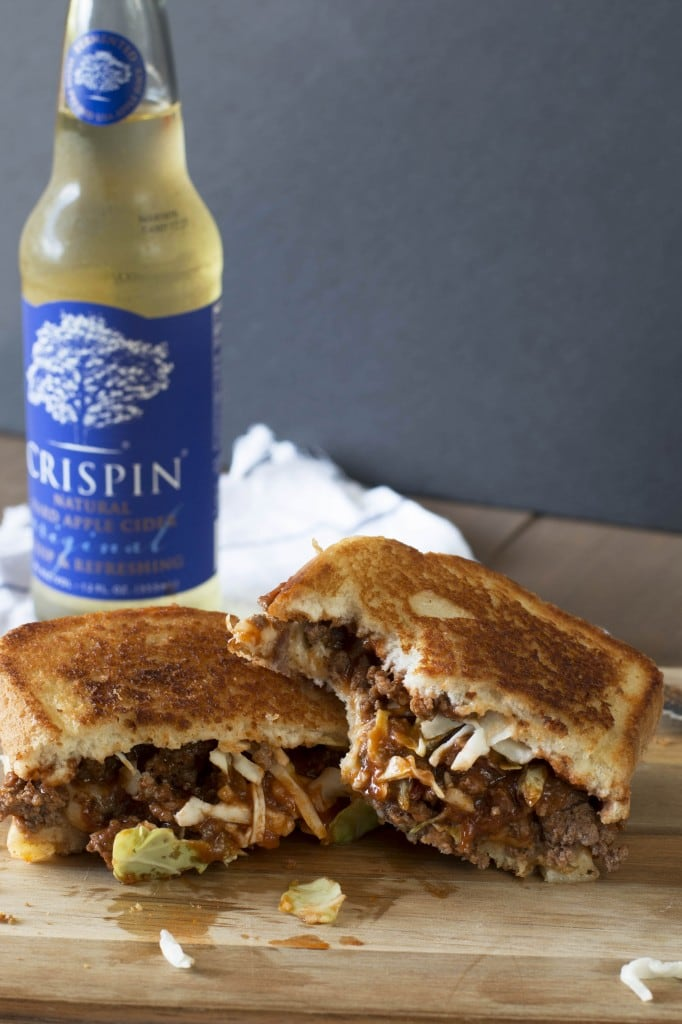 Sloppy Joe Grilled Cheese_4
