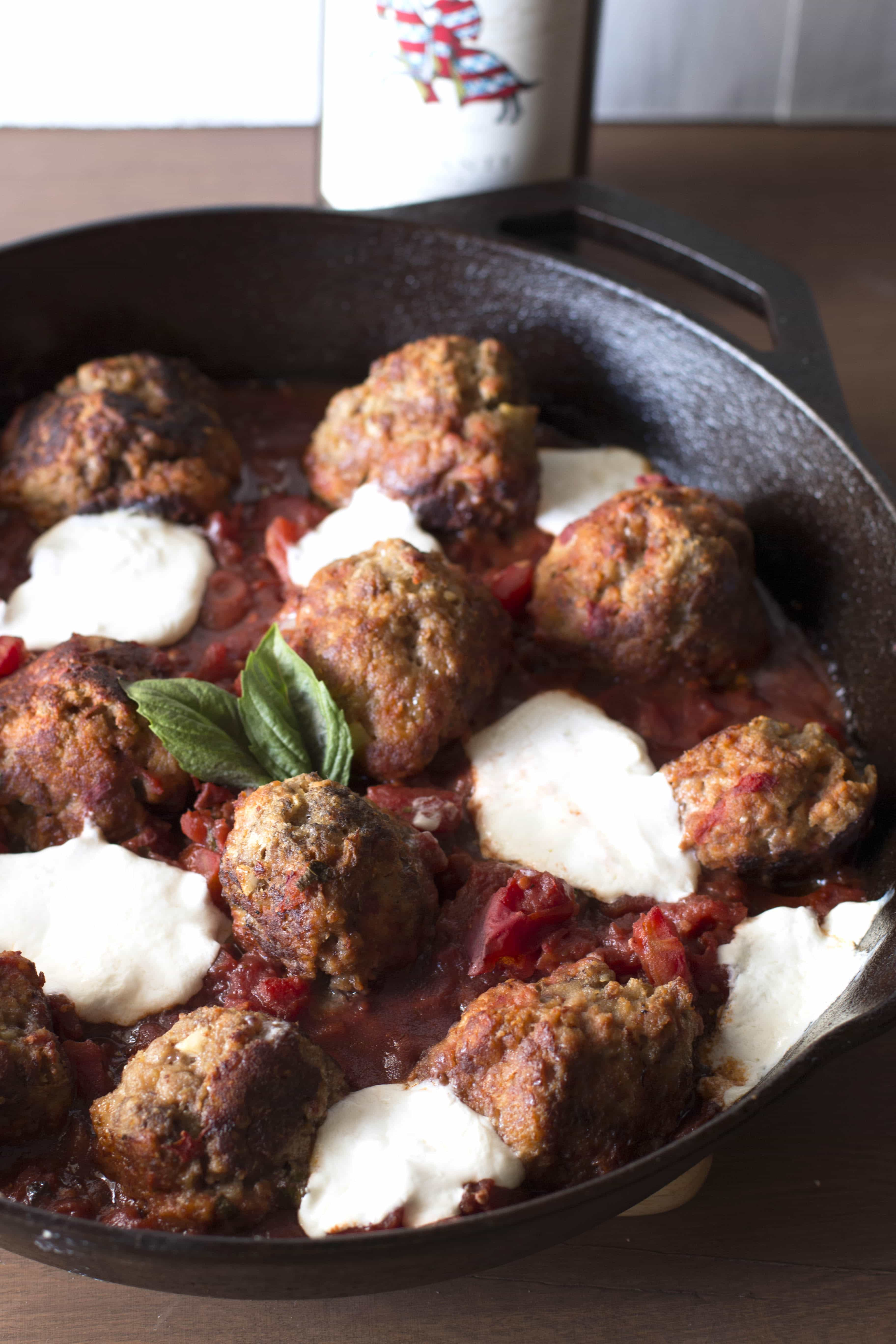 Braised Turkey Meatballs With Quick Tomato Sauce Recipes — Dishmaps