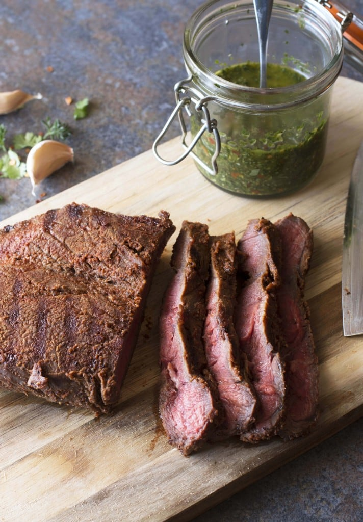 Flank Steak with Spicy Chimichurri 2