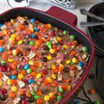 Leftover Halloween Candy Cake with KitchenAid® Streamline Ceramic