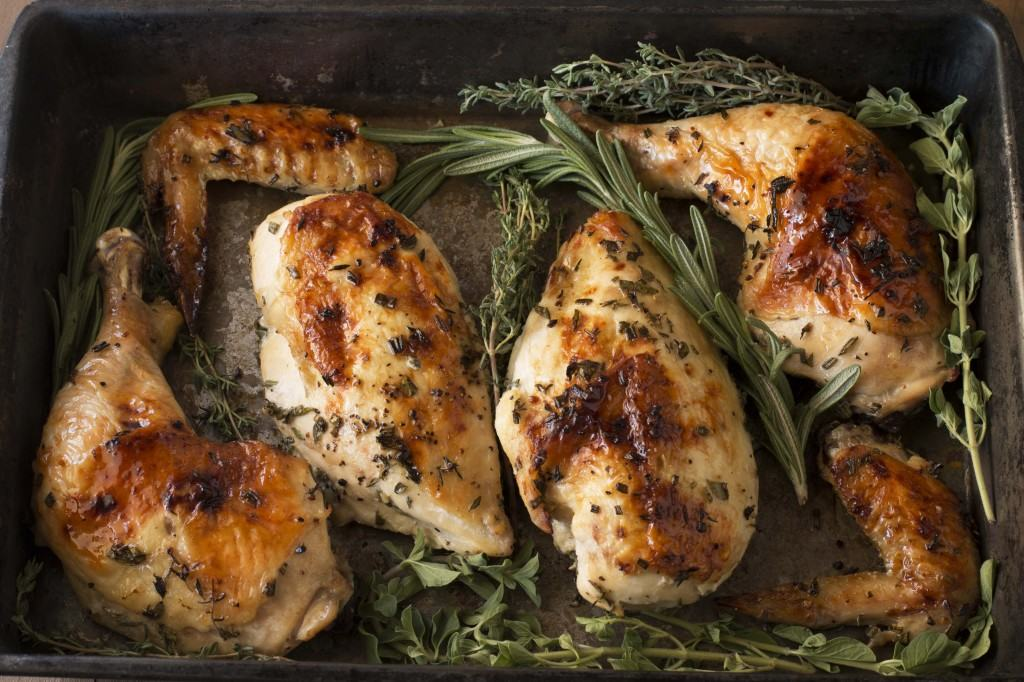 Roasted Chicken and Herbs 1