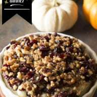 Baked Camembert with Cranberry Walnut Crust | cakenknife.com