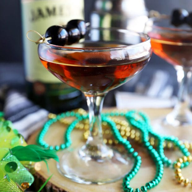 Classic Jameson Manhattan Recipe Cake N Knife