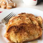 Overnight Gingerbread French Toast