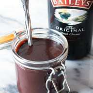 Bailey's Hot Fudge Sauce | cakenknife.com