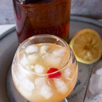 Sparkling Whiskey Sour