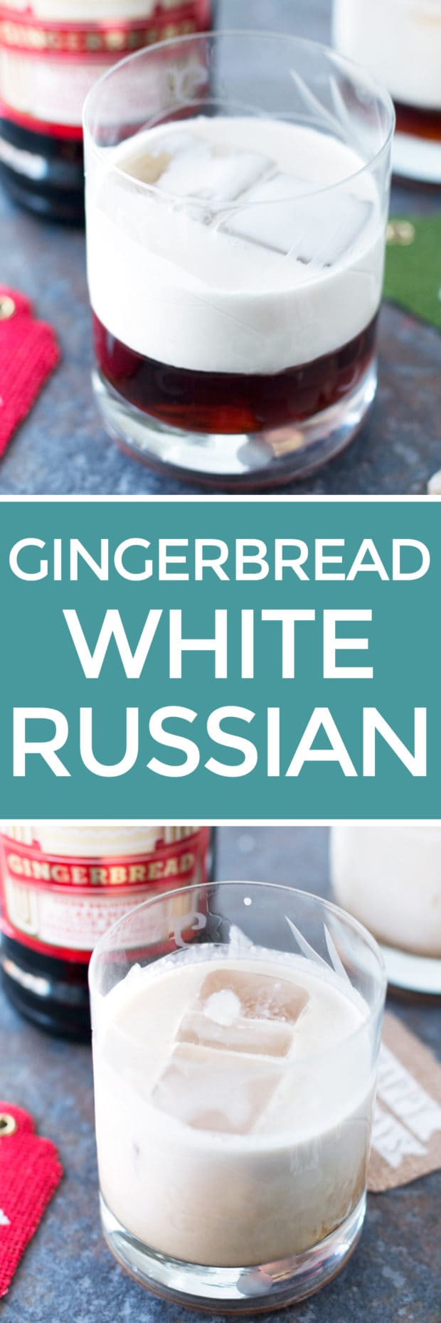 Gingerbread White Russian | cakenknife.com