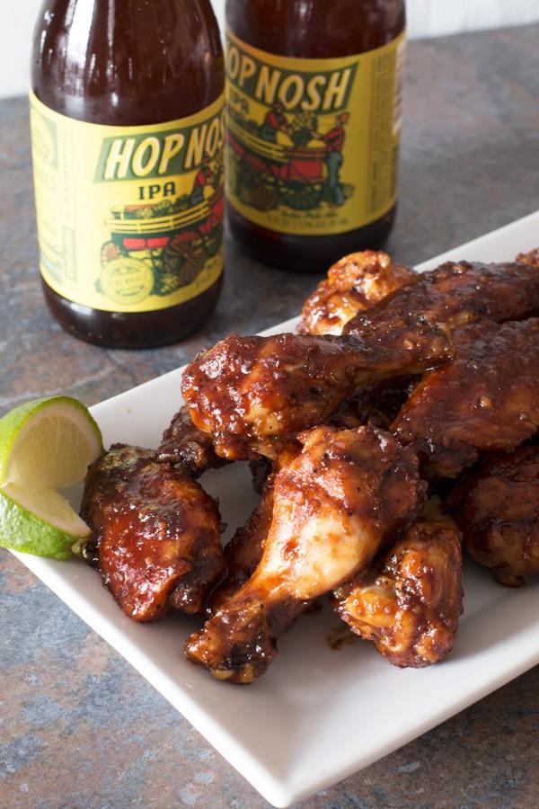 Miso Glazed Chicken Wings | cakenknife.com