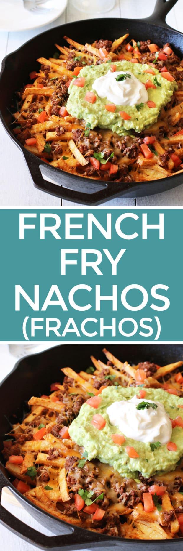 French Fry Nachos (AKA Frachos!) | cakenknife.com