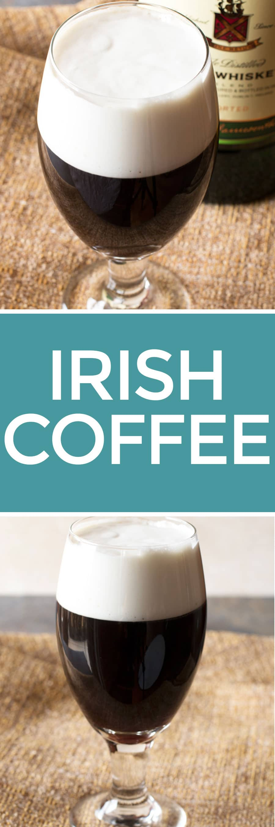Irish Coffee | cakenknife.com #appetizer #beef #snack #stpatricksday