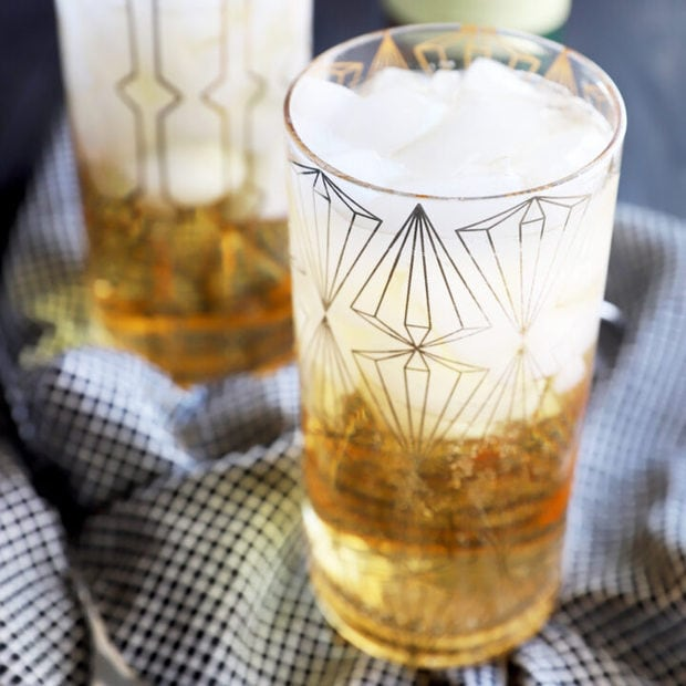 Jameson and ginger cocktail recipe image