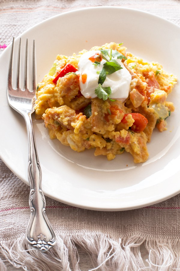 Migas - the ultimate breakfast | cakenknife.com