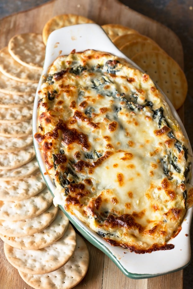 baked spinach artichoke dip baked spinach artichoke dip 11890