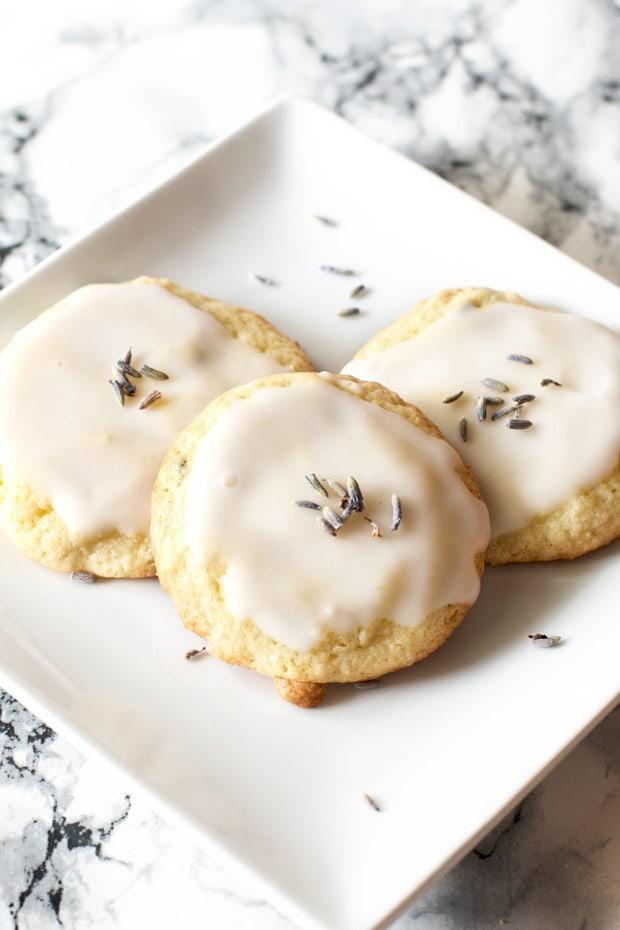 Grandma's Lavender Cookies | cakenknife.com
