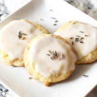Grandma's Lavender Cookies