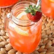 Vodka Strawberry Lemonade   cakenknife.com