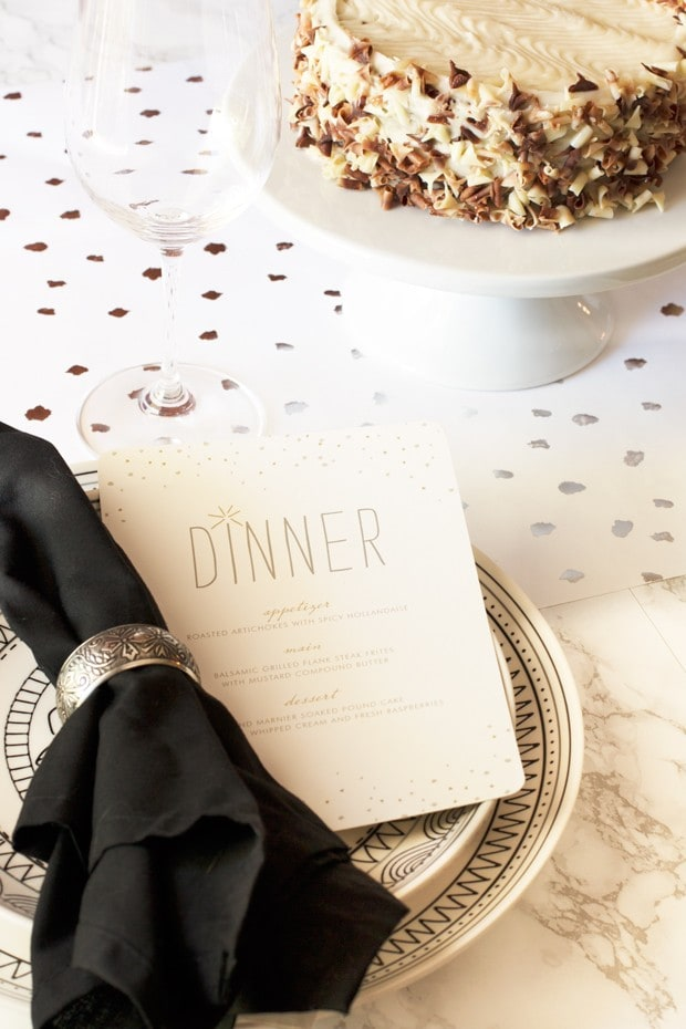 Dinner Parties with Minted | cakenknife.com