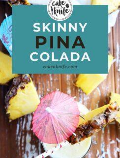 Skinny Piña Colada Pinterest Image