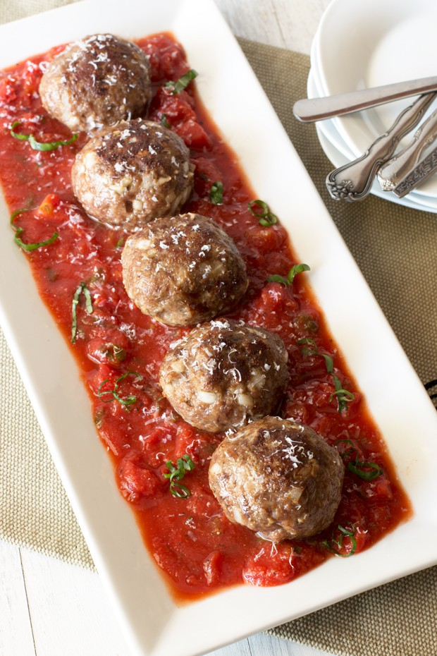 ... cheese stuffed meatballs are. Beautiful, cheese-stuffed, melt-in-your