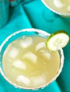 Cucumber Margarita | cakenknife.com