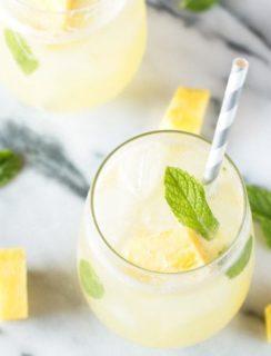 Pineapple Mojito | cakenknife.com