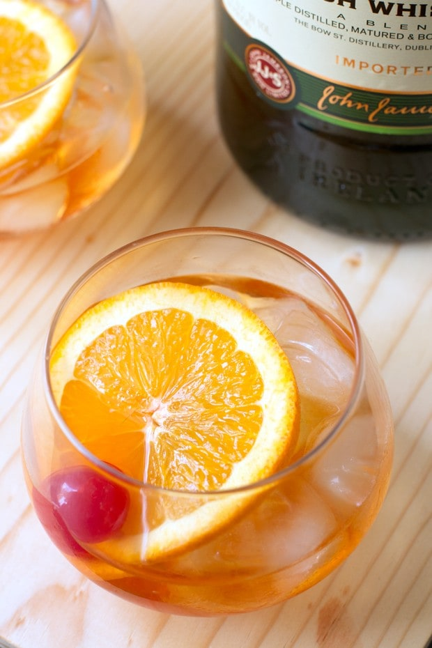 Jameson Old Fashioned | cakenknife.com