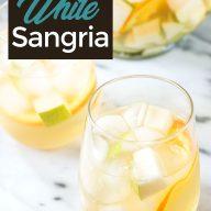Pear Ginger White Sangria Pinterest Image