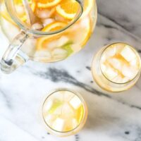 Pear Ginger White Sangria