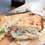 Chicken Caesar Sandwich | cakenknife.com