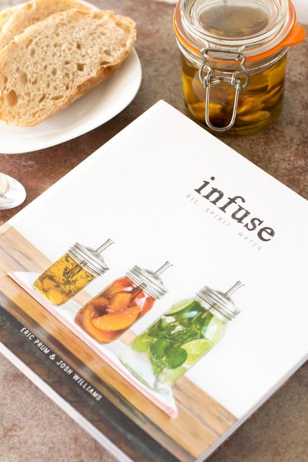 Cookbook Review: Infuse & Garlic Confit Oil | cakenknife.com