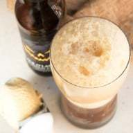 Pumpkin Stout Float | cakenknife.com