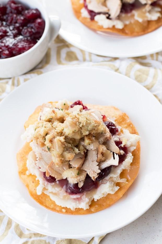 Thanksgiving Leftovers Tostadas   cakenknife.com